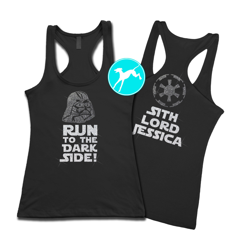 5470cefd4f Disney Darth Vader dark side black personalized Tank Running Tank Tops,  Types Of Shirts,
