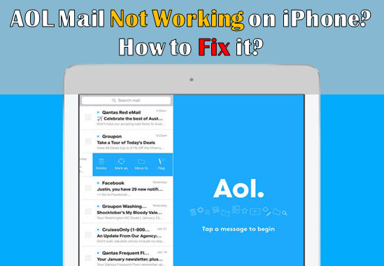How To Fix AOL Mail Is Not Working Error On iPhone? How to