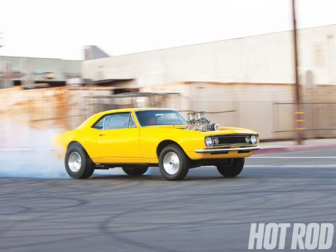 First-Gen Camaro Makeover - The Crusher Goes From Pro Touring To Retro Street Machine - Hot Rod Magazine
