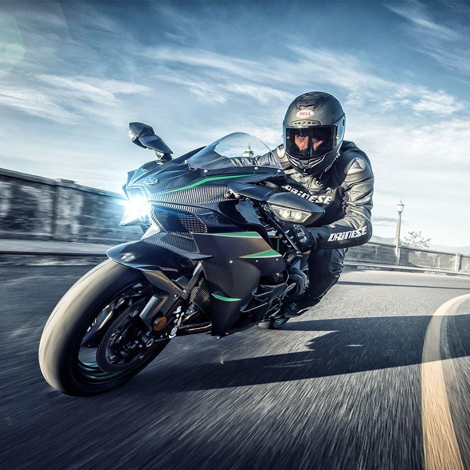 The Kawasaki Ninja H2 Carbon. Don't settle for less than
