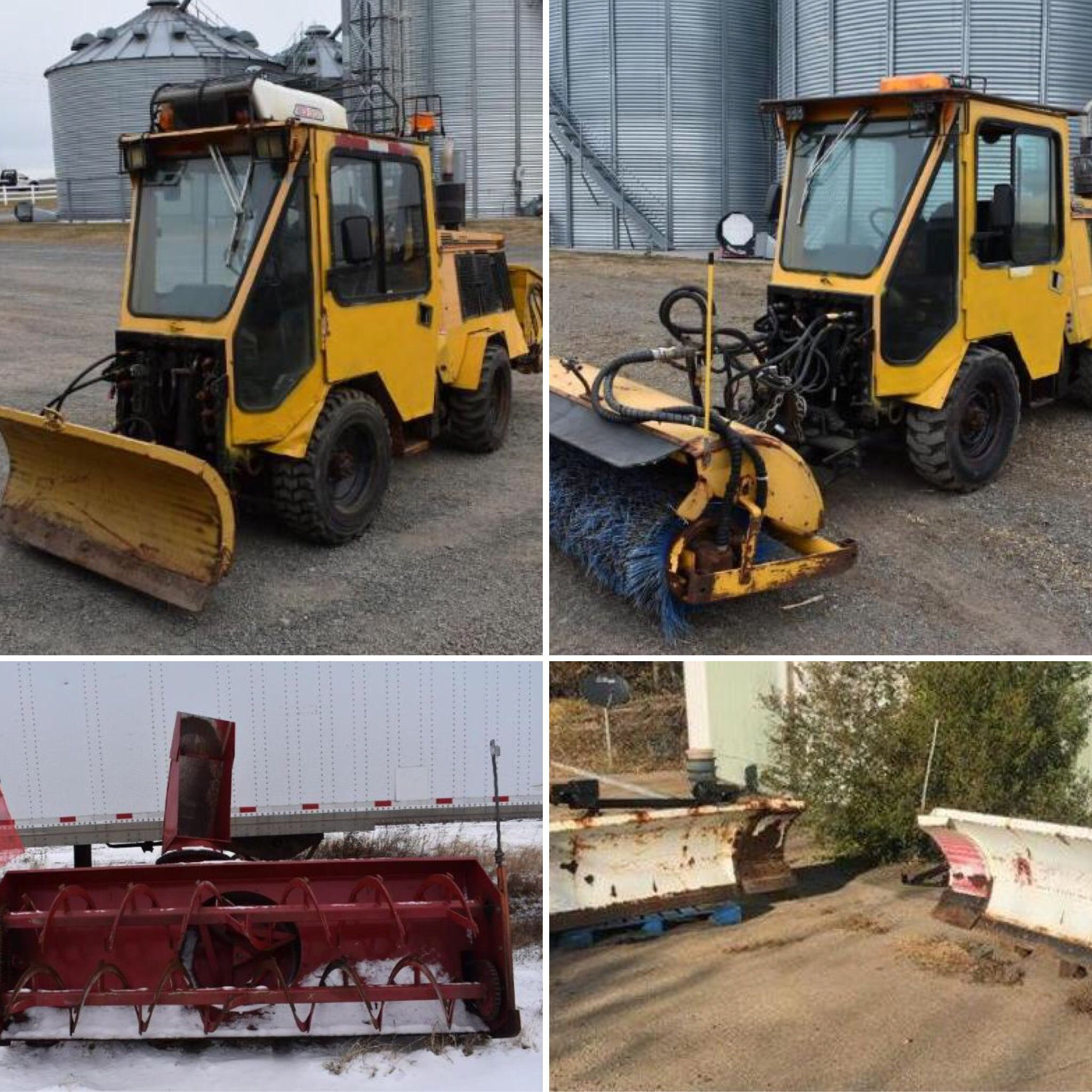 AUCTION COMPLETE Get your snow removal equipment and