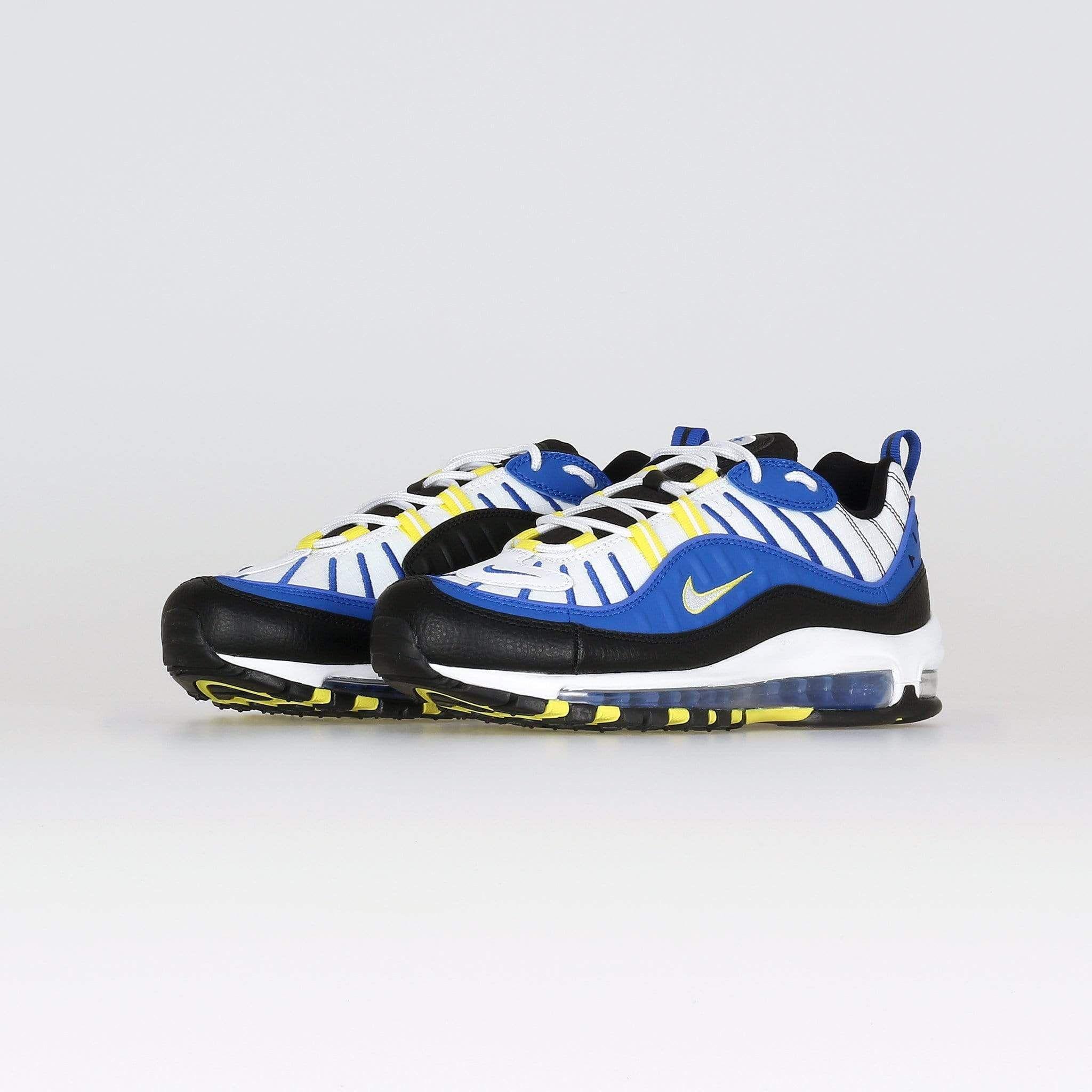 nike air max 98 'entourage' - racer blue / white