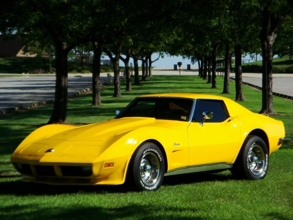 small resolution of 1979 corvette in yellow