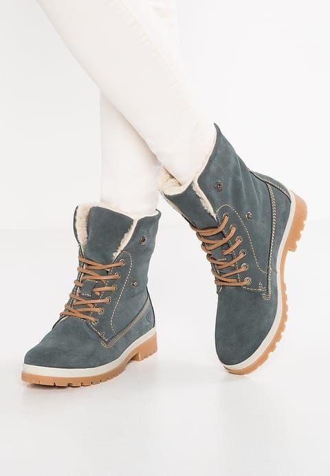 Tamaris Ankle boots sky | Zalando, Winterstiefel und Blaue