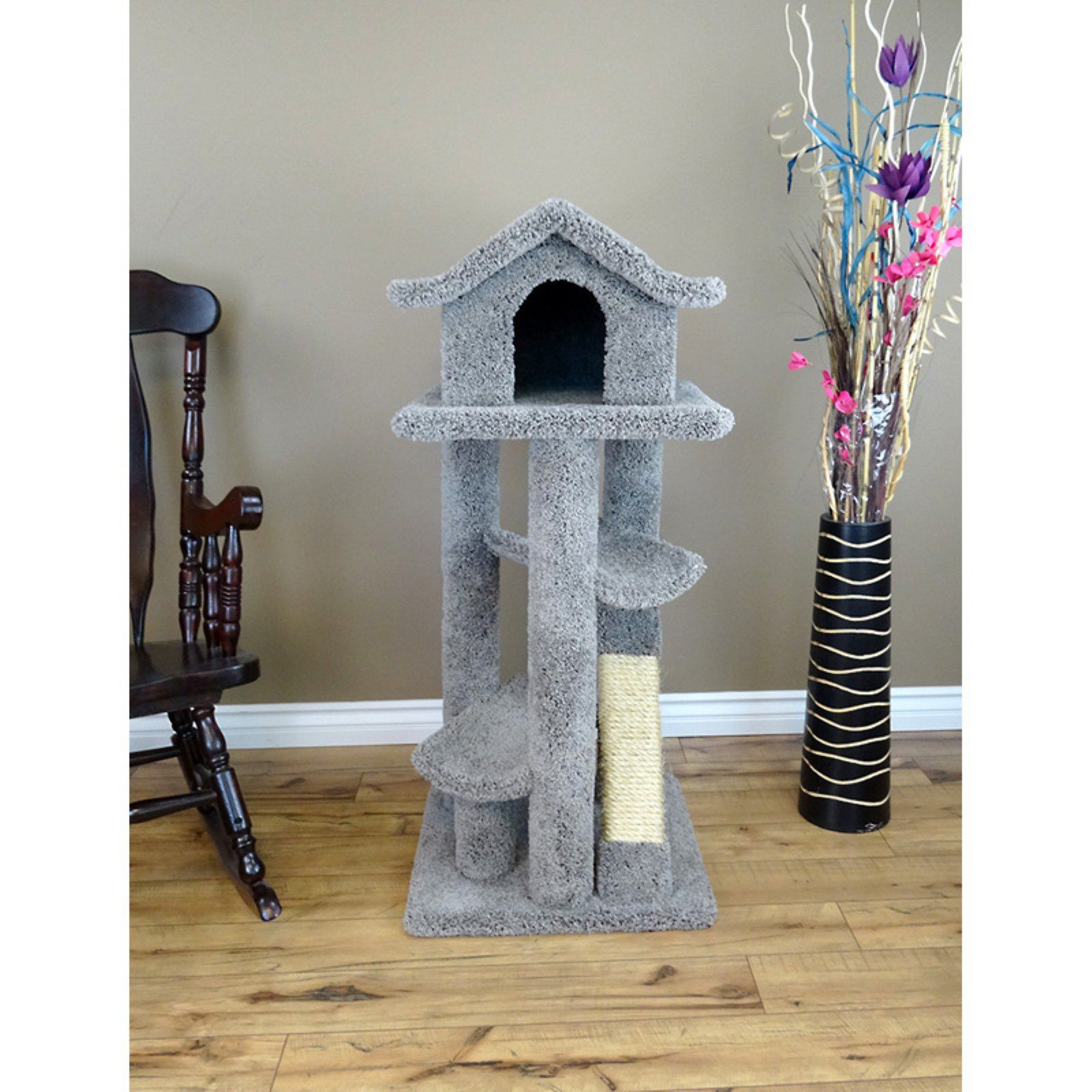 New Cat Condos Large 46 In Paa Tree 2019