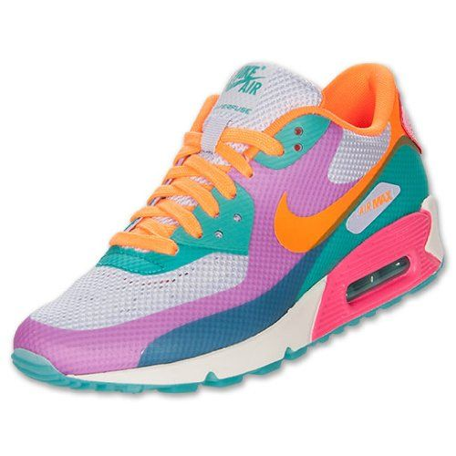 a50de2530d895 Amazon.com: NIKE Women's Air Max 90 Hyperfuse Premium Running Shoes ...