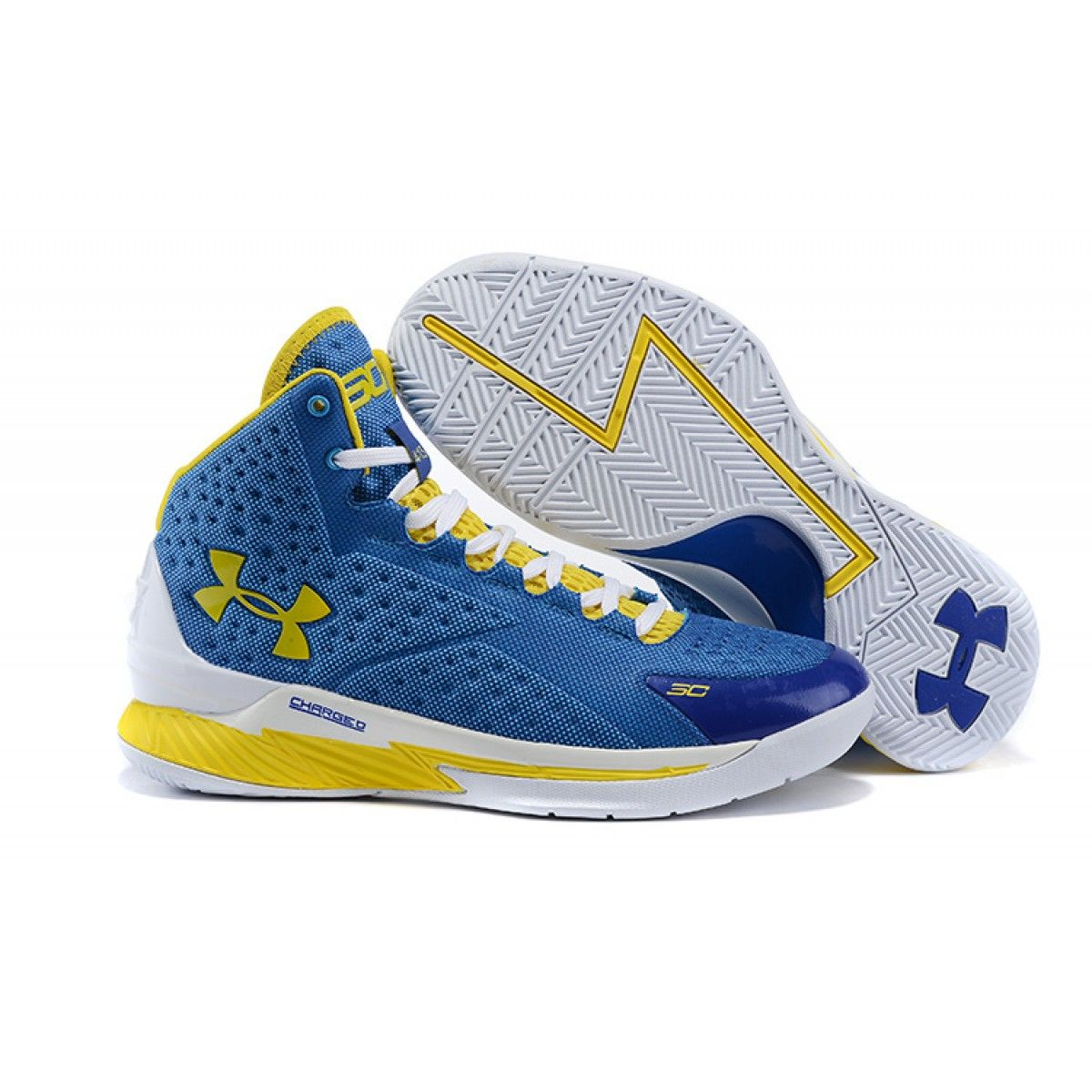 mens ua curry one basketball shoes team royal