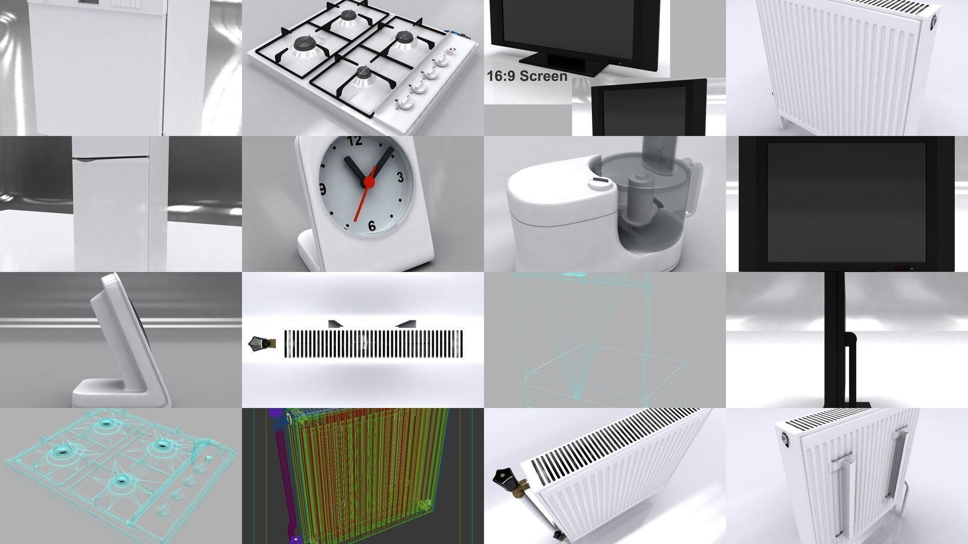 Pin by CGTrader on 3D Furniture Appliances, Household