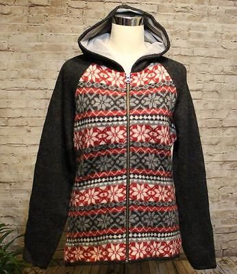 Woolrich-Nordic-M-Zip-Up-Hoodie-Jacket-Cardigan-Sweater-Fair-Isle ...