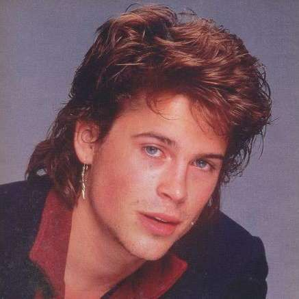 The Most Epic Celebrity Mullets Ever Ever Mullet Hairstyle Mullets Rob Lowe