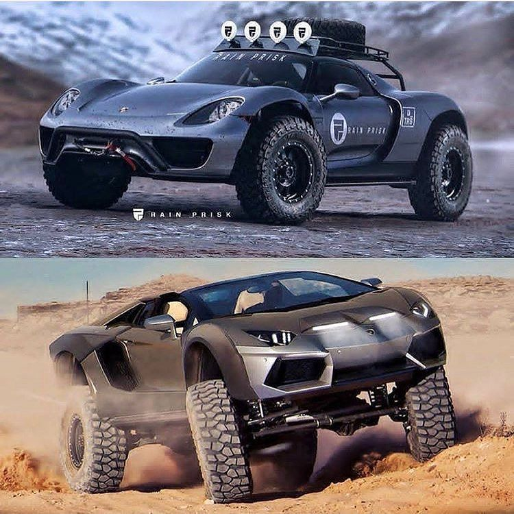 Offroad lambo concept 4x4 918 aventador bull kingzwhips for top or bottom fandeluxe Images