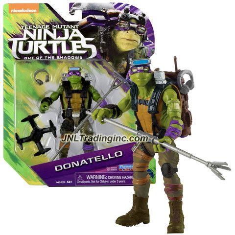 Donatello Stealth Tech TMNT Teenage Mutant Ninja Turtles Basic Action Figures