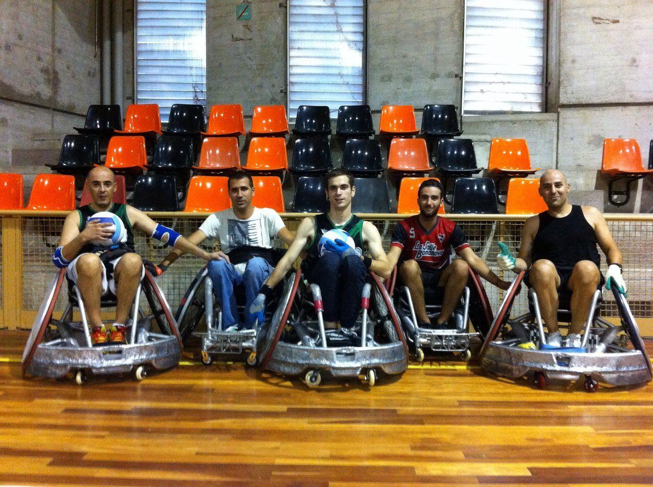BatecLifestyle Quad Rugby, a sport for quadriplegics