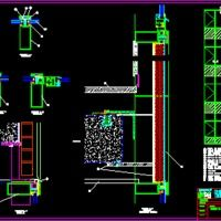 Curtain Wall Details Dwg Autocad Drawing Panels Walls