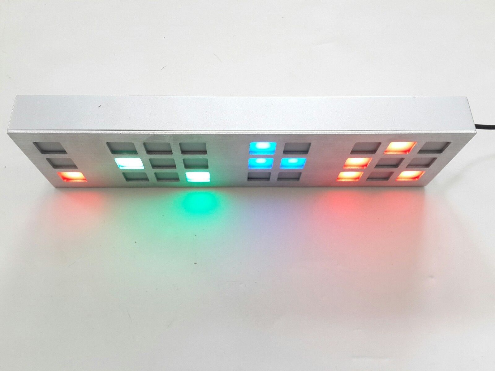 Tix Clock Cube Root Digital Digits Binary Symbol Symbolic Led Silver Very Rare Consumer Electronics Gadgets Other Electronics Clock Led Clock Diy Gadgets