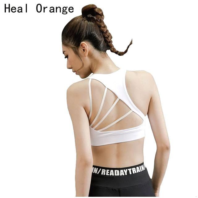 3d16c5c33c0f9 Sexy open back Yoga Bra  YogaBra