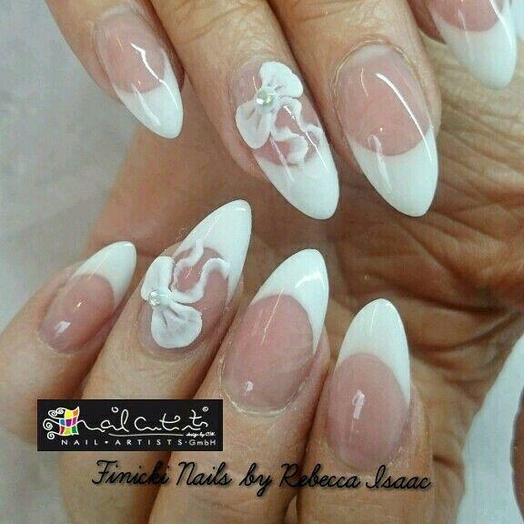 Stiletto designs nail art