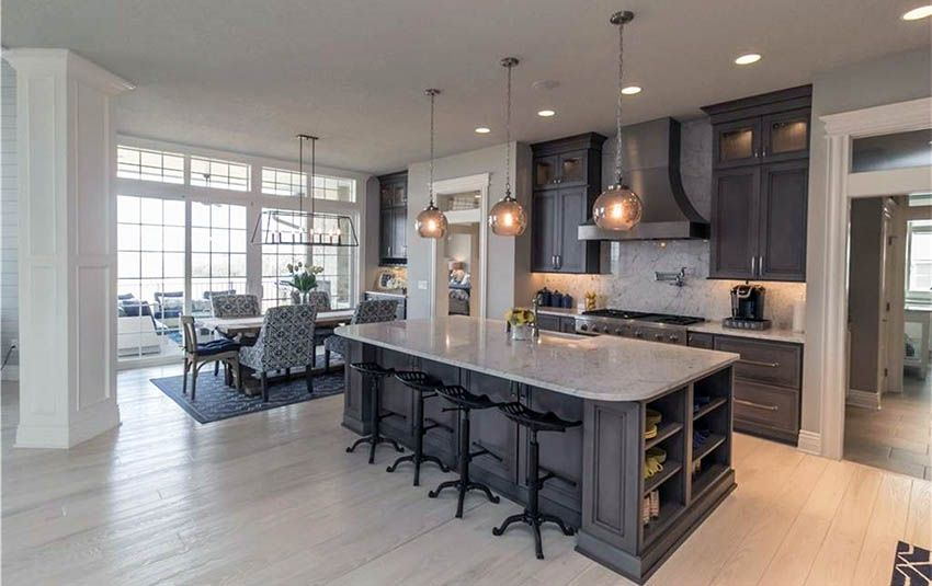 Best Beautiful Open Floor Plan Kitchen Ideas Open Floor Plan 400 x 300