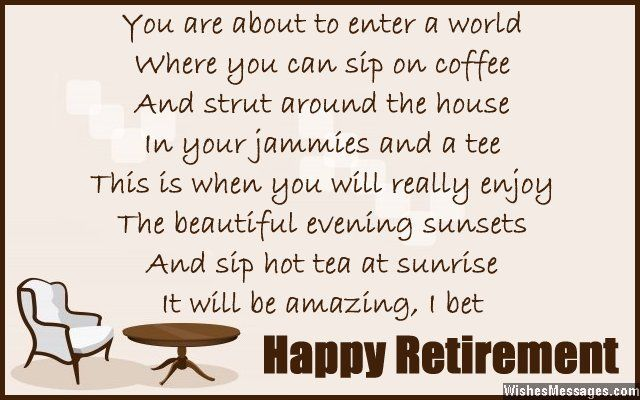 Retirement Poems for Colleagues and Co-workers Sunrise