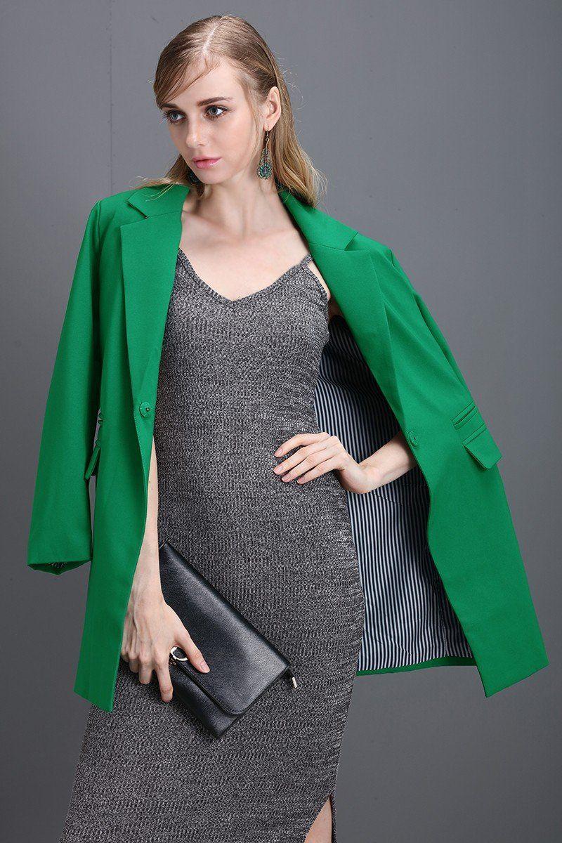 Bella Philosophy Spring Women Full Sleeves Casual Jacket