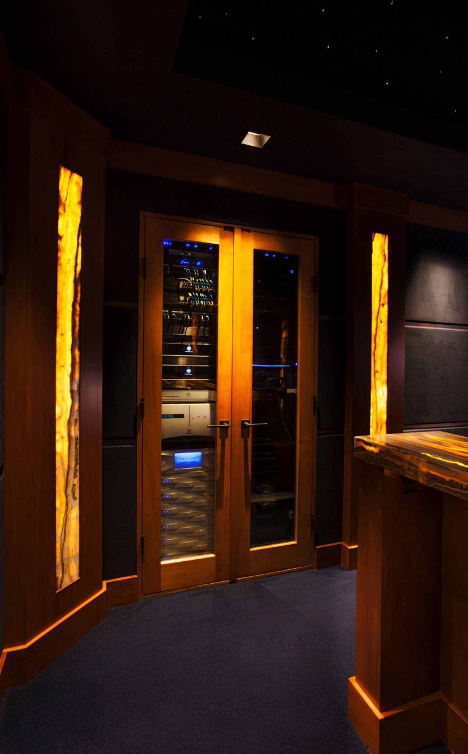 Massive Renovation And High End Electronics Help Home Theater Earn The