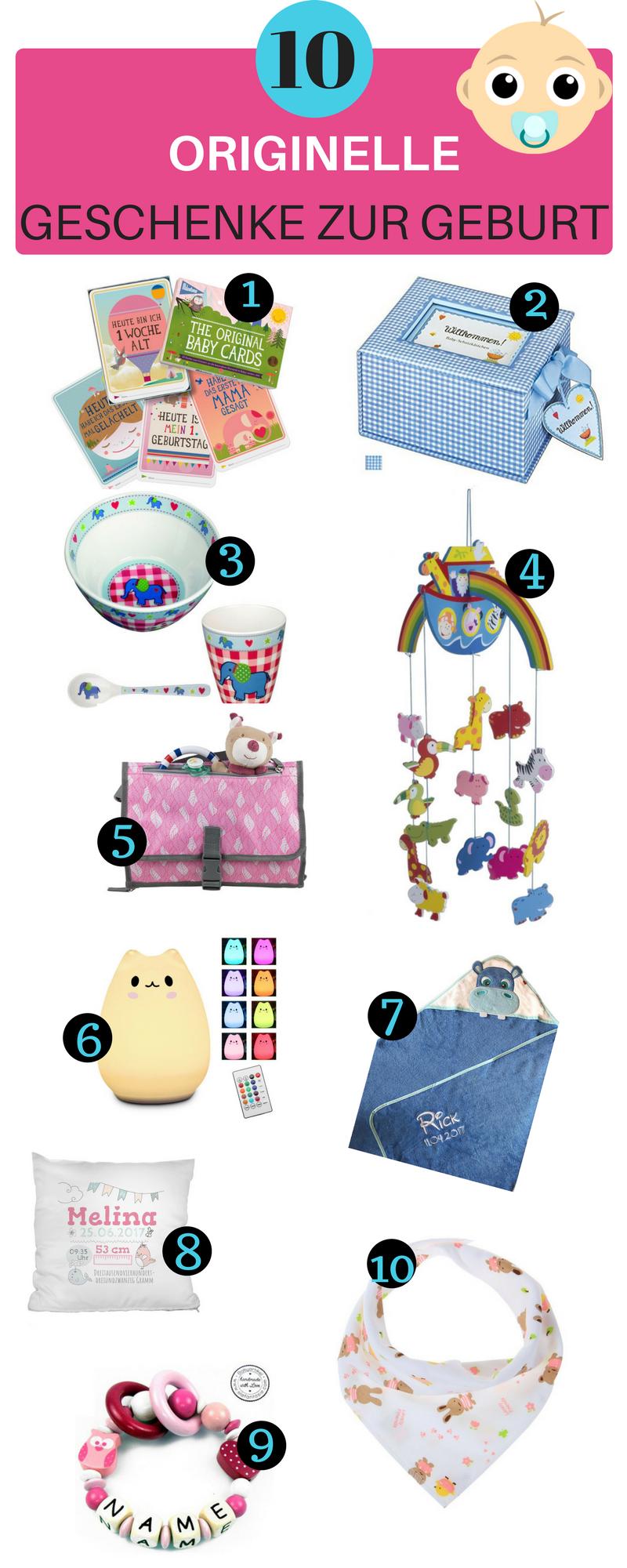 10 originelle Geschenke zur Geburt für Mädchen & Jungs | Baby und ...