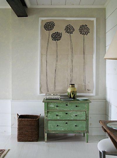 patine 2 couleurs attention en principe il faut utiliser de la cire pour prot ger la couche. Black Bedroom Furniture Sets. Home Design Ideas