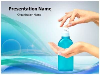 Hand Sanitizer Powerpoint Template is one of the best PowerPoint - nursing powerpoint template
