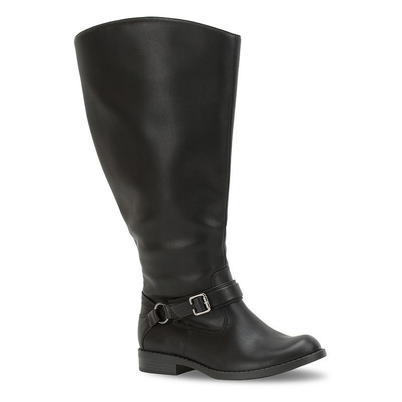 Easy Street Quinn Women's Extra-Wide-Calf Riding Boots, Size ...