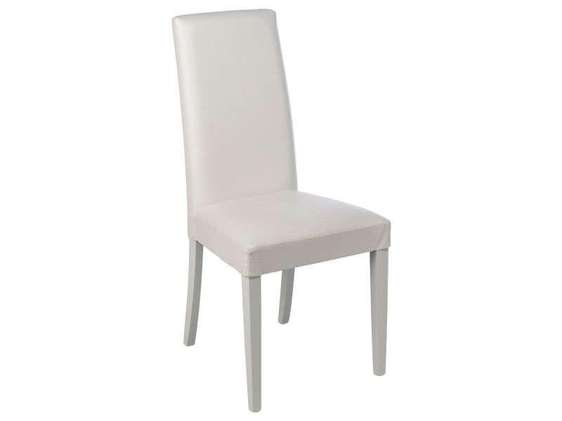 Chaise Dundee Coloris Blanc Vente De Chaise Chaise Canape Conforama