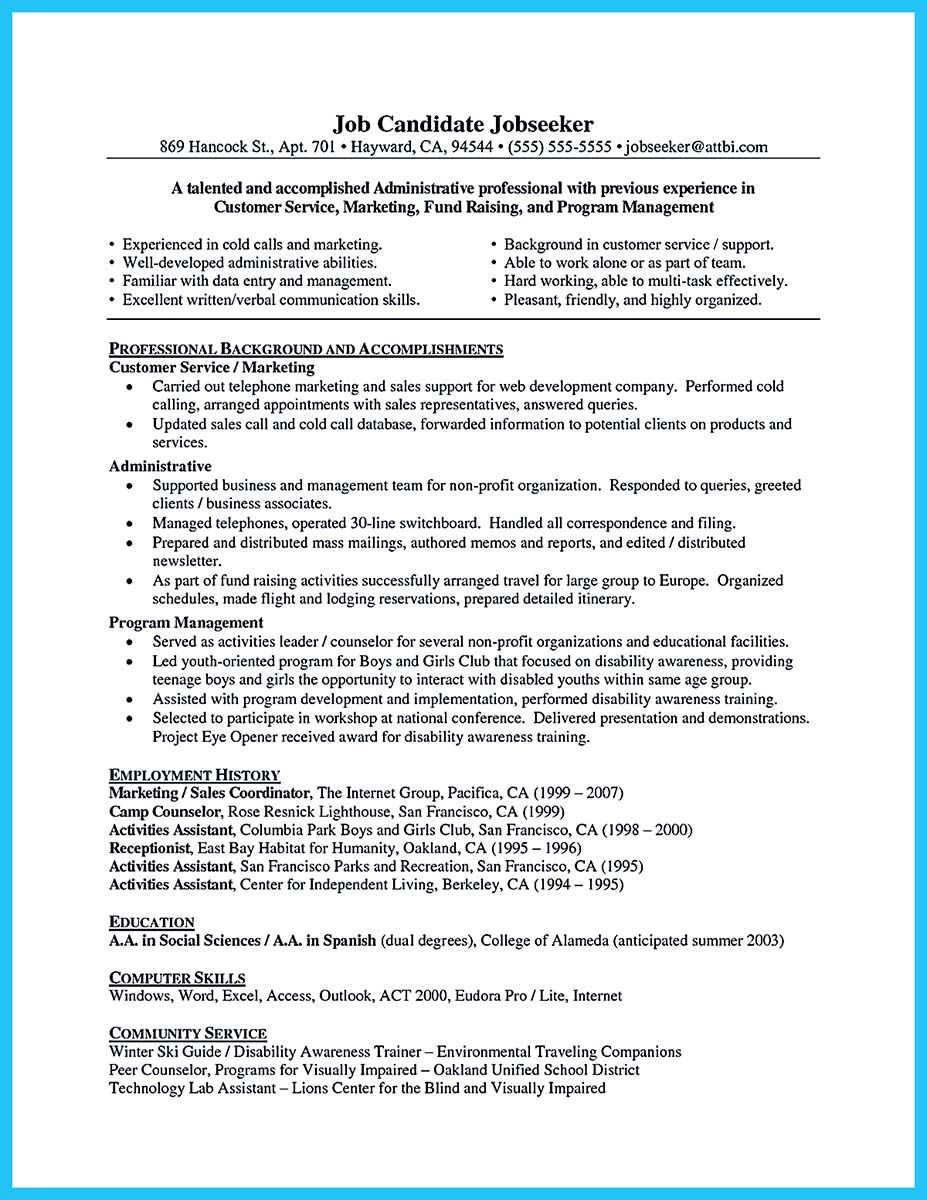 Well Written Resume Impressive Nice Well Written Csr Resume To Get Applied Soon Check More At Http