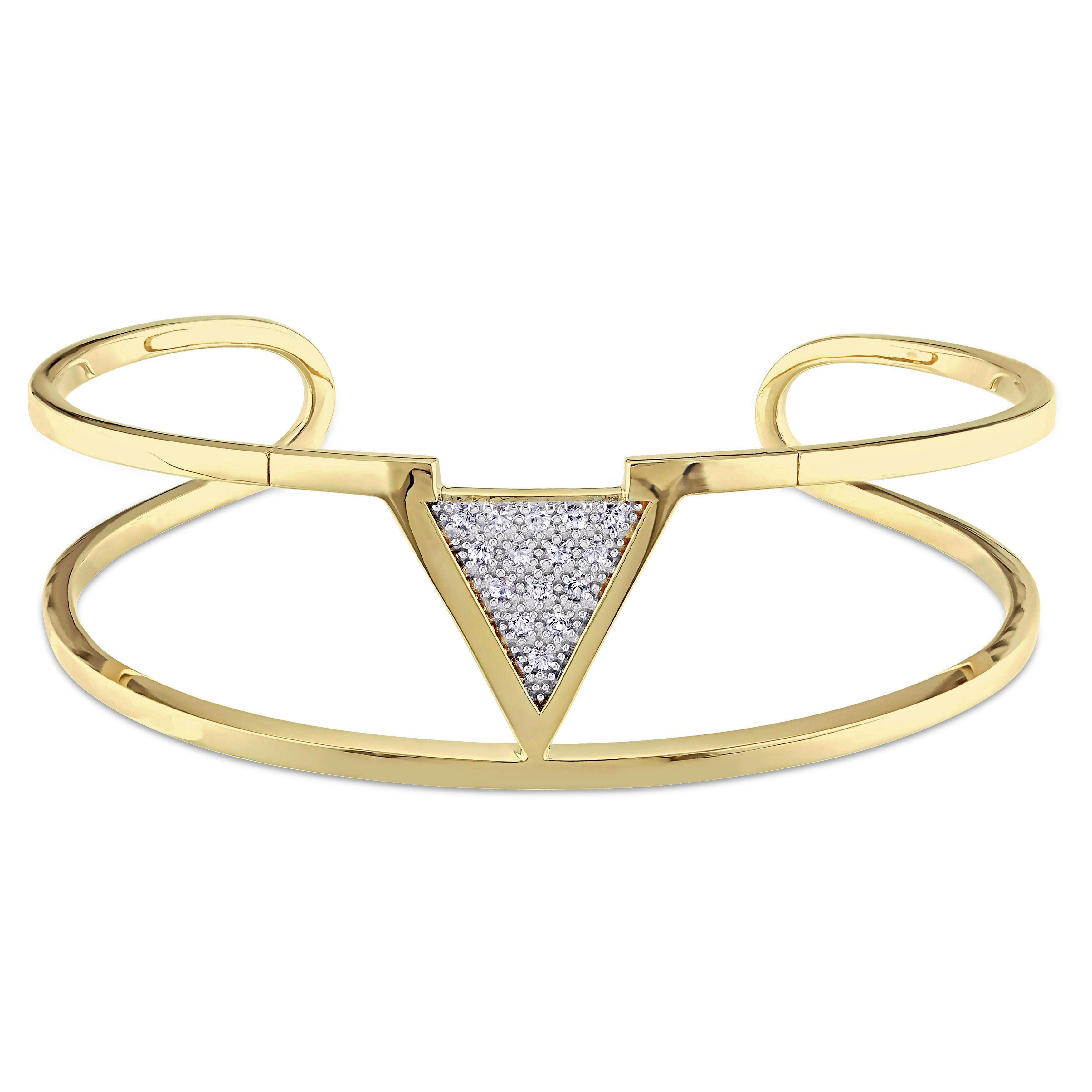 Versace abbigliamento sportivo srl sapphire insignia cuff