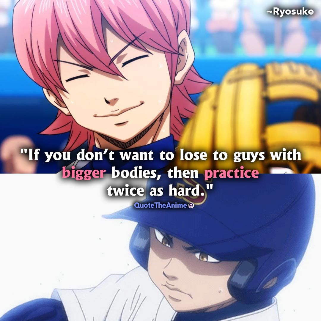 9 Powerful Diamond No Ace Quotes Hq Images Qta Ace Quote Anime Quotes Inspirational Ace Of Diamonds