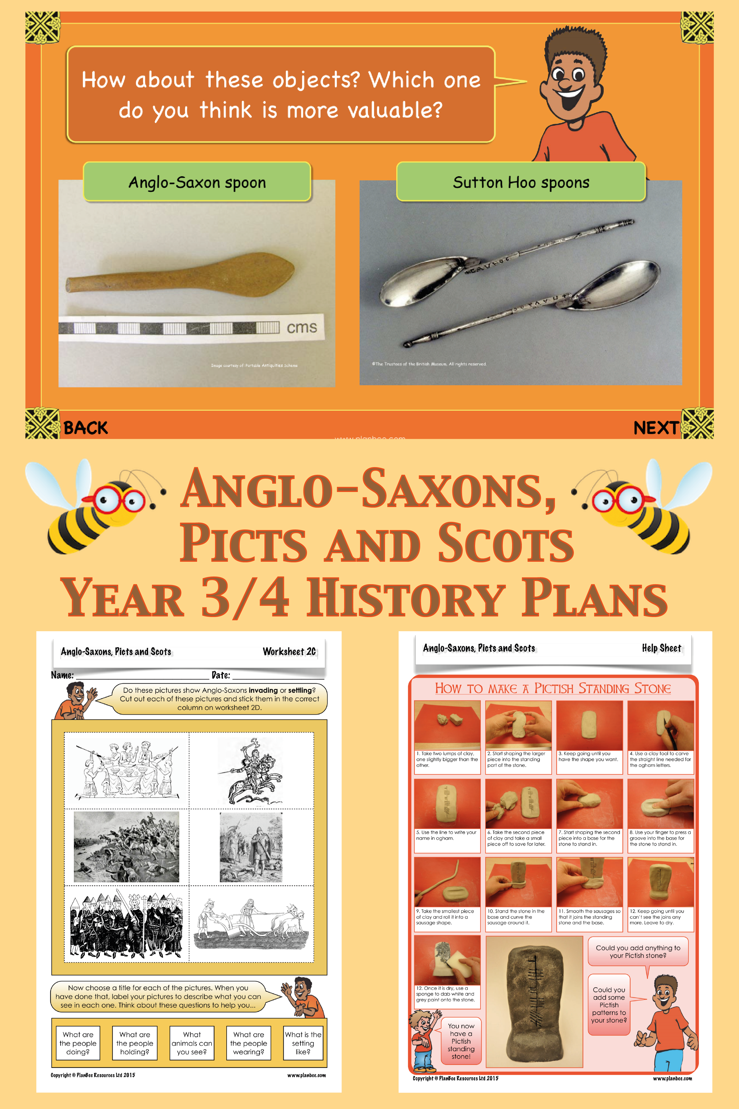 Anglo Saxons Picts And Scots