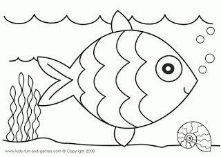 Crepe Paper collage - Rainbow Fish craft | Preschooler crafts ...