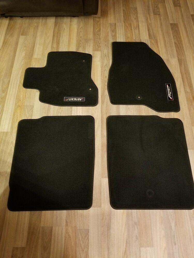 Oem New 2015 2018 Ford Explorer Premium Carpet Floormats Black