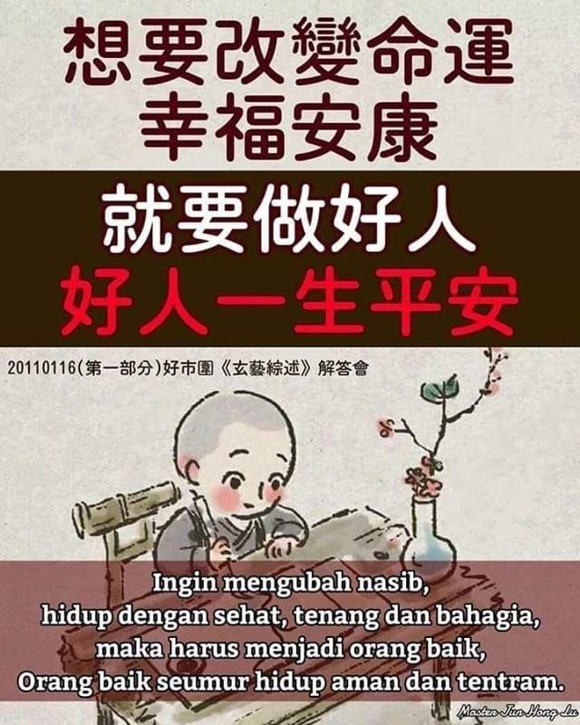 Master Jun Hong Lu: Ingin mengubah nasib hidup dengan ...