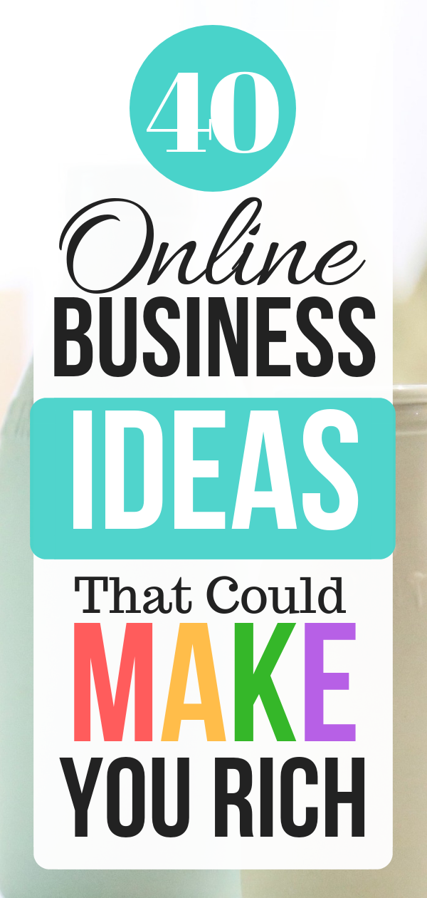 40 Best Online Business Ideas To Make 1000 per Month as A