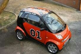 General Flea With Images Smart Car Body Kits General Lee