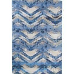 Photo of benuta In- & Outdoor-Teppich Artis Blau 200×285 cm – für Balkon, Terrasse & Garten benuta