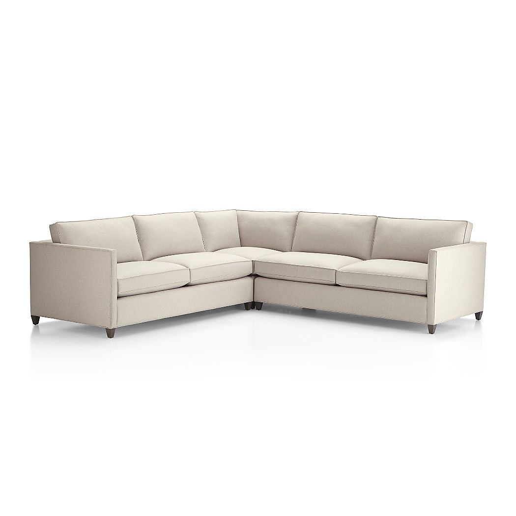 Shop dryden 3 piece corner sectional we designed dryden so you can make it your own