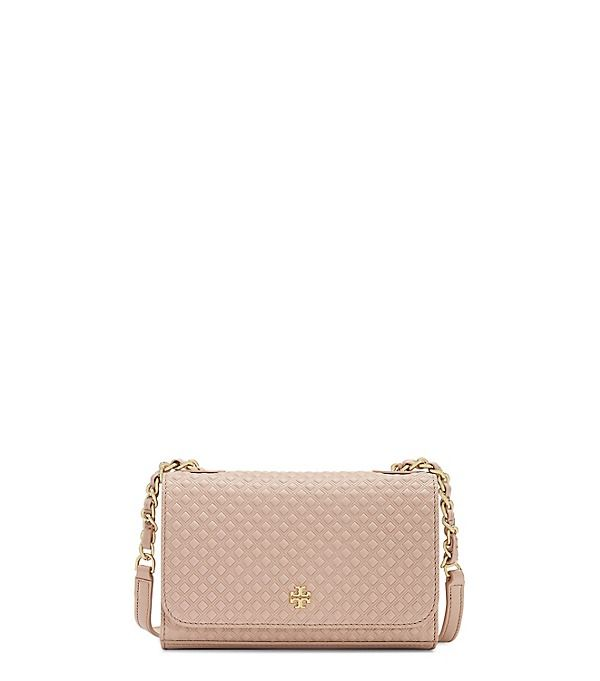 41c62690fe8 Tory Burch Marion Embossed Shrunken Shoulder Bag