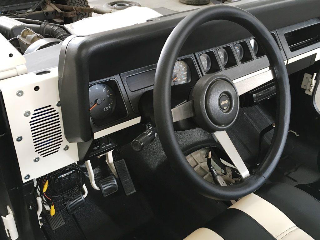 Jeep Wrangler Yj Armaturenbrett Neu Lenkradbezogen Jeep