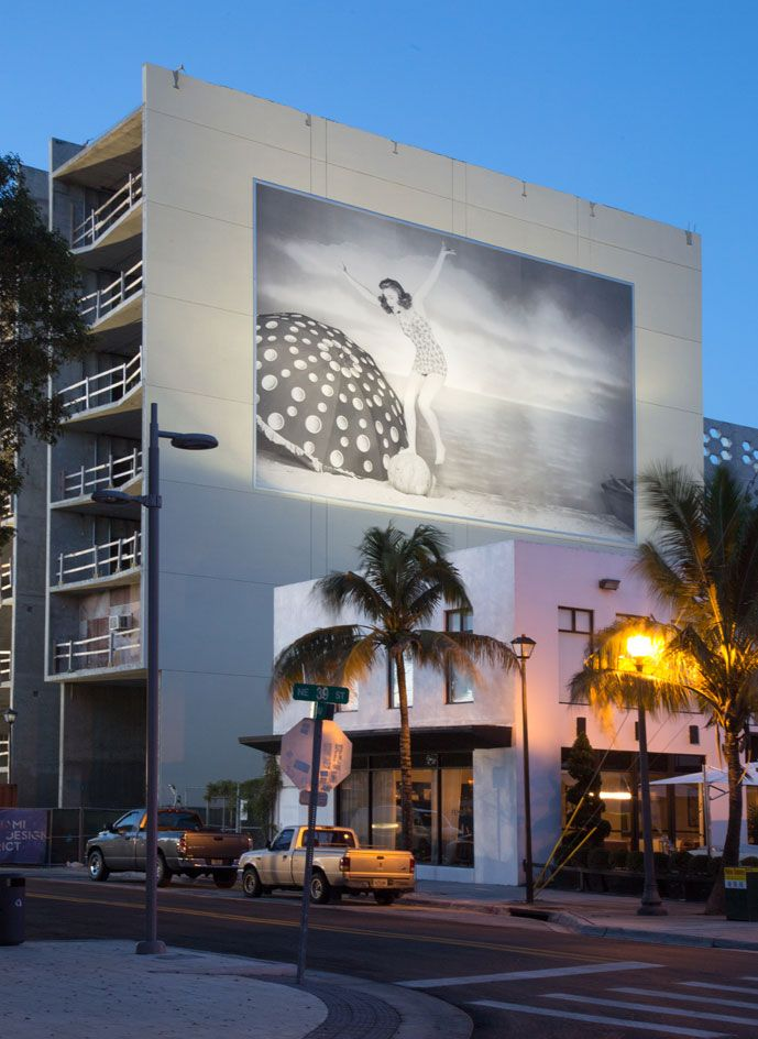 All wrapped up: Miami Design District welcomes a new face