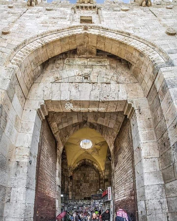 مدخل باب العامود في القدس Photo Instagram Instagram Photo