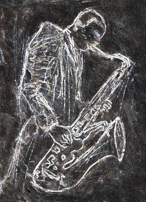 Jazz Art by Cliff Warner @ http://www.cliffwarner.co.uk/jazz