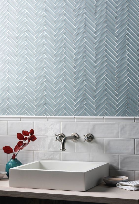 40 Modern Bathroom Tile Designs And Trends Renoguide Australian Renovation Ideas And I In 2020 Modern Bathroom Tile Herringbone Tile Bathroom Bathroom Tile Designs