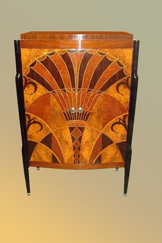 Art Deco Furniture | Art deco design, Art deco furniture design, Art deco  period padstyle rare exotic wood