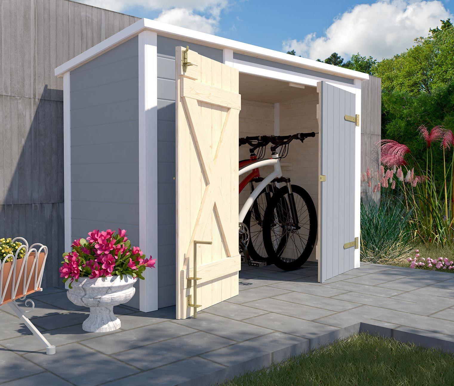 WEKAFahrrad und Multibox (mit Bildern) Gartenhaus mit
