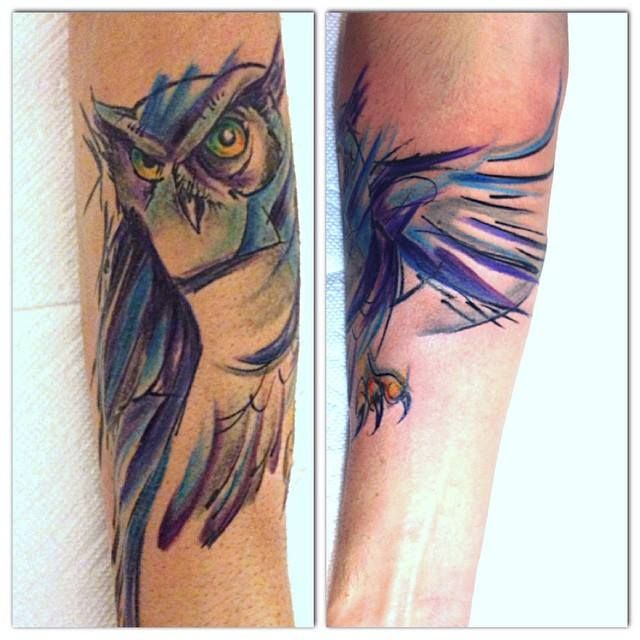 Watercolor Tattoo Abstract Watercolor Back Tattoo Abstract